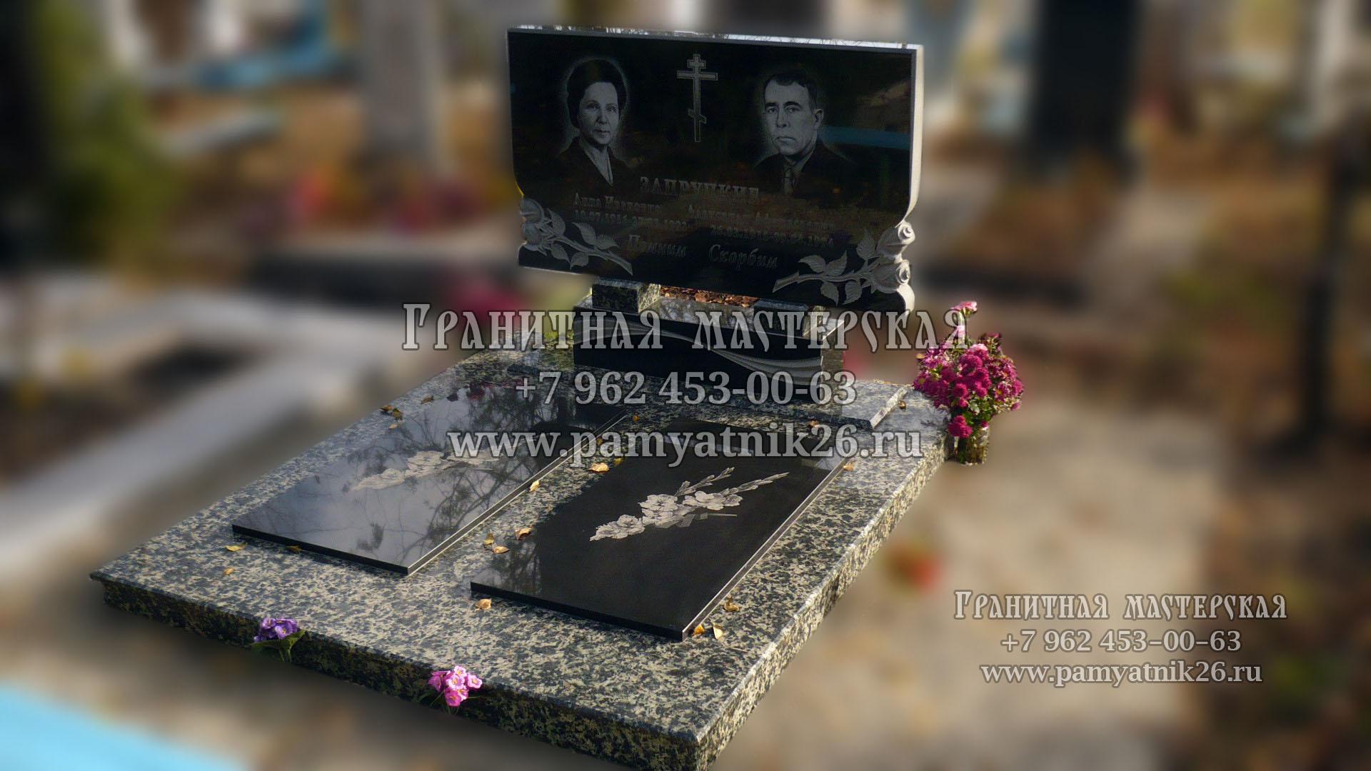 памятники на могилу без фотографии